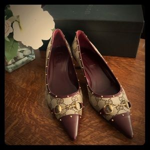 Gucci Low heel pumps size 8